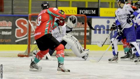 The Belfast Giants had a convincing win over HSC Csikszerada