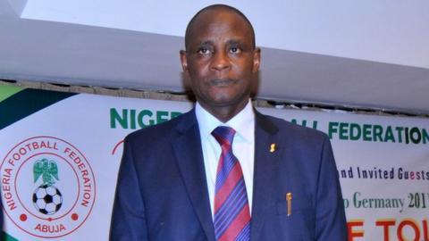 NFF president Aminu Maigar