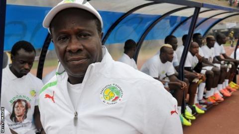 Former Senegal coach Joseph Koto