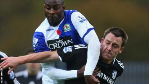 Jason Roberts and John Terry