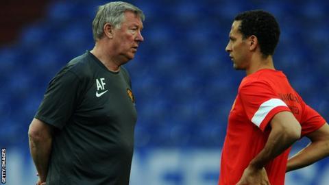 Sir Alex Ferguson supports Rio Ferdinand's statement on racism