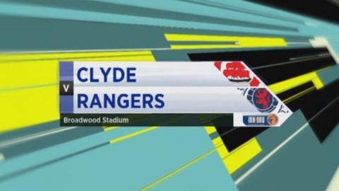 Clyde v Rangers