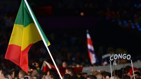 The Congo flag