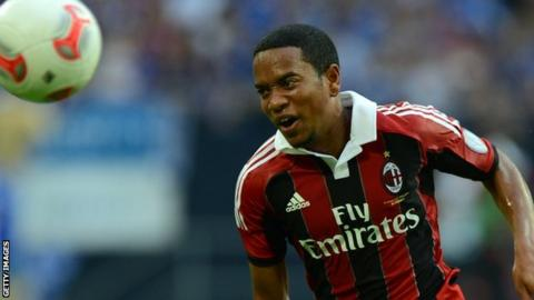 AC Milan winger Urby Emanuelson
