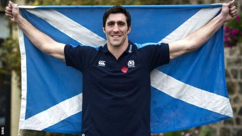 New Scotland skipper Kelly Brown