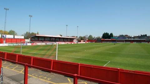 Tamworth's Lamb Ground