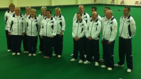 Jersey bowls team for Australia