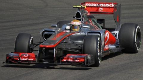 McLaren's Lewis Hamilton