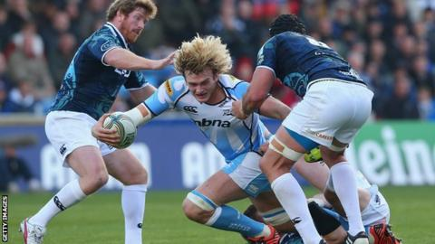 Richie Gray in action for Sale