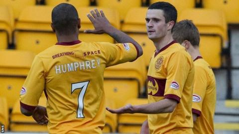 Chris Humphrey and Jamie Murphy