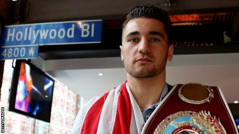 Nathan Cleverly in Los Angeles