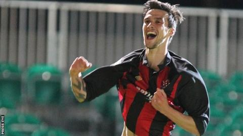 Declan Caddell scored for Crusaders