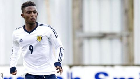 Scotland under-19 international Islam Feruz