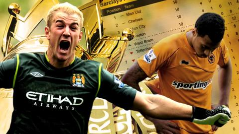 Joe Hart and David Davis