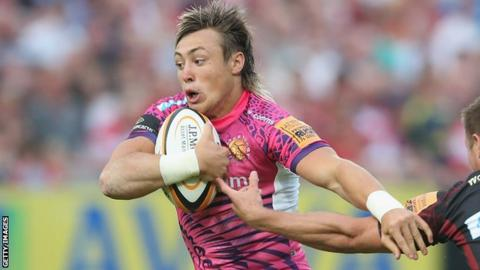 England youngster Jack Nowell is set to start for Exeter