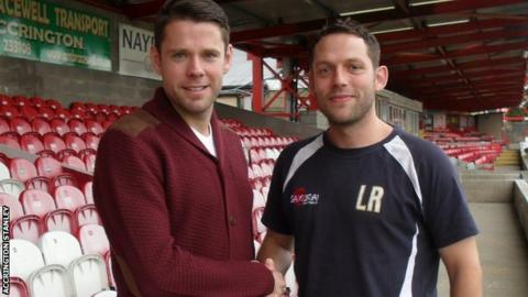 James Beattie and Leam Richardson