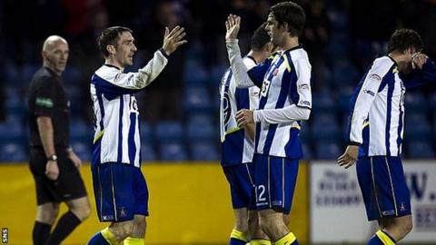 Kilmarnock were 3-0 winners against Ross County