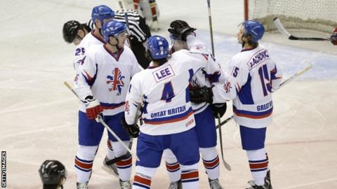Ice Hockey  Great Britain beat Japan a3fbf4e41