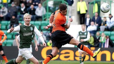 Hibernian v Dundee Utd
