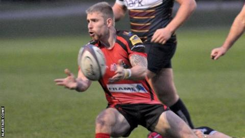 Greg Goodfellow scored Redruth's second try