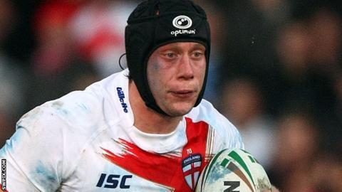Warrington forward Chris Hill