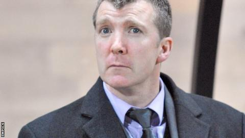 Stockport County director of football Jim Gannon
