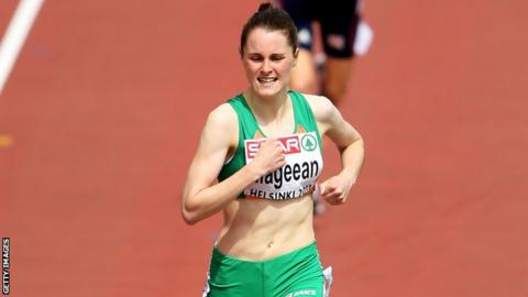 Ciara Mageean in action at this year's European Championships in Helsinki