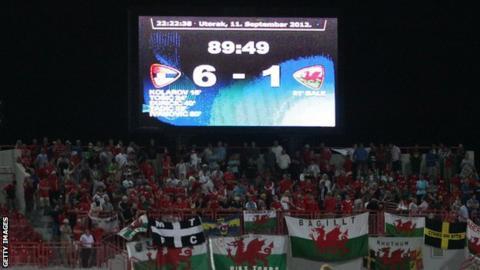 Fans in Novi Sad