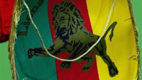 Cameroon football pennant