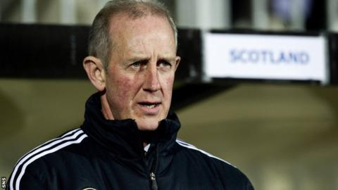 Interim Scotland boss Billy Stark