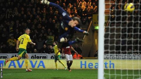Anthony Pilkington scores for Norwich