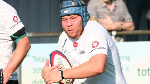 Tim Mathias' late try sealed the win