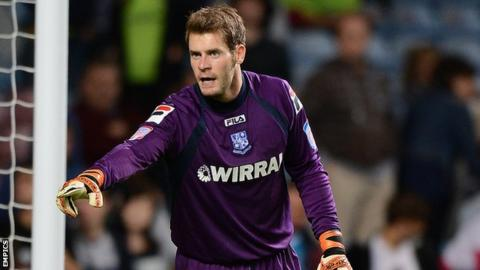 Tranmere Rovers goalkeeper Owain Fon Williams