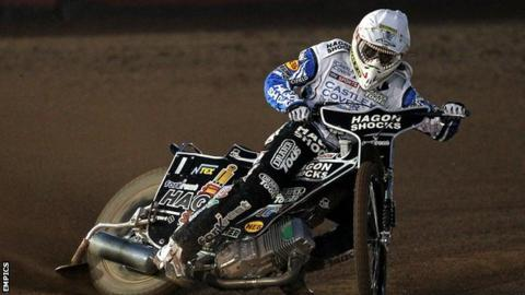 Speedway - Chris Holder of Poole Pirates