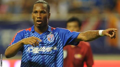 outlet store fbb41 f9724 Didier Drogba: Fifa blocks Chelsea move to bring back ...