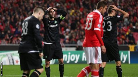 Celtid stumbled to defeat in Lisbon