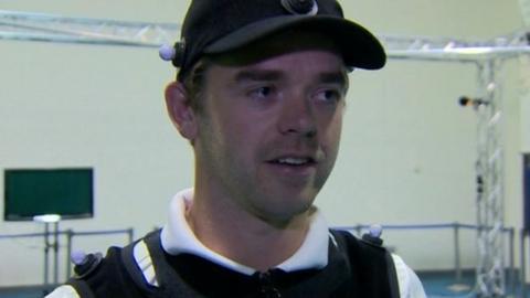 Lurgan golfer Gareth Shaw