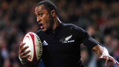 New Zealand winger Joe Rokocoko