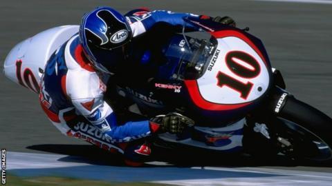 The winner of the last Argentina Grand Prix, Kenny Roberts Junior