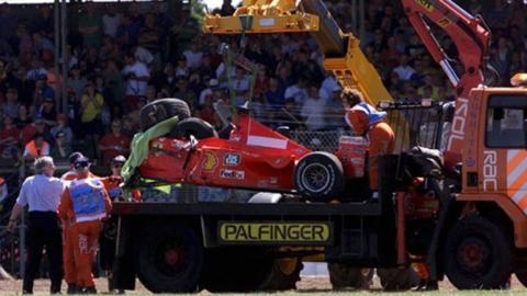 Michael Schumacher F1 car