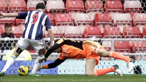 Shane Long taps in West Brom's second