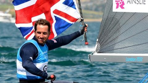 Four-time Olympic Finn class champion Ben Ainslie