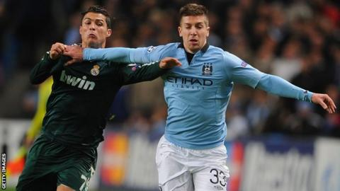 Cristiano Ronaldo and Matija Nastasic