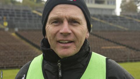 Kilcoo manager Jim McCorry