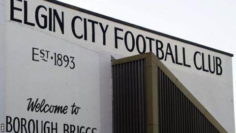 Elgin City's Borough Briggs