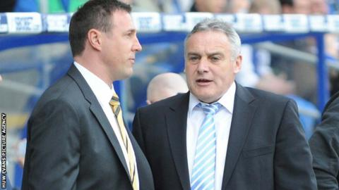 Malky Mackay and Dave Jones