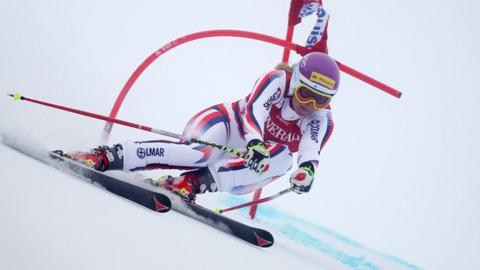Chemmy Alcott on her return to action at Lake Louise