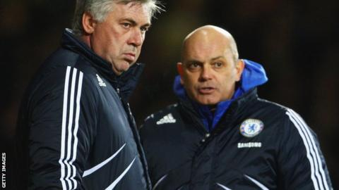 Carlo Ancelotti and Ray Wilkins