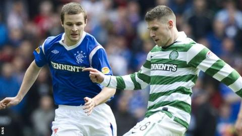 Rangers and Celtic are now at different ends of the league structure
