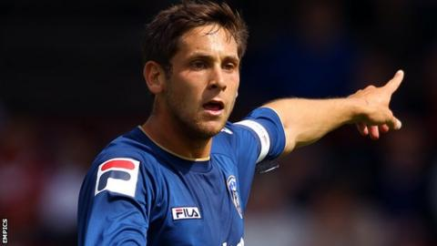 Oldham Athletic captain Dean Furman